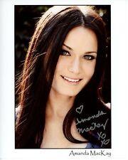 AMANDA MACKAY Signed Autographed AGENCY Photo