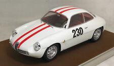 Alfa Romeo Giulietta Sz #230 Friburgo / Schauinsland 1962 Fischbaber 1:18 Model