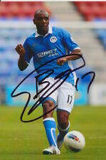 WIGAN HAND SIGNED EMMERSON BOYCE 6X4 PHOTO.