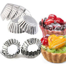 20PCS Cake Muffin Cupcake Bakeware Baking Cup Mold Egg Tart Cups Pudding Mould