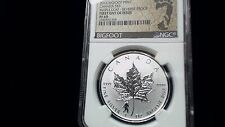 2016 Canada 1 oz Silver Maple Leaf Bigfoot Privy- First Day of Issue  NGC PF69