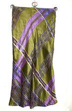 BAZAR, Christian Lacroix viscose mix satin flared skirt. Size 40