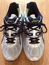 Asics GEL-LANDRETH Running/Walking Shoes Size US 9.5 White w Navy Blue IGS