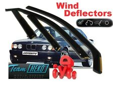BMW 5 series E34 WIND DEFLECTORS 4Doors 1988-1996 saloon (11106)