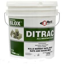 Ditrac All Weather Blox Mice Rats 1-18# Pail Bell Labs DI4024