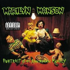 Portrait Of An American Family - Marilyn Manson (1994, CD NEUF) Explicit Version