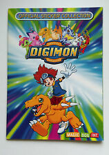 RARE MAGIC BOX INT STICKER ALBUM BOOK DIGIMON 2000