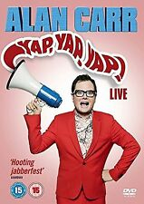 Alan Carr Yap Yap Yap Stand Up Live Comedy Show DVD Original New UK Release R2