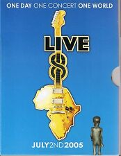 Live 8 One Day One Concert Various Artists (4 DVDs)
