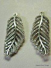 NEW! AUTHENTIC PANDORA EARRINGS LIGHT AS A FEATHER DANGLES #290680CZ