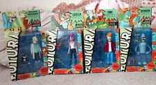 FUTURAMA SERIES LOT 4  BENDER, LEELA ,FRY,  FARNSWOTH TOYNAMi NEW ACTION FIGURE
