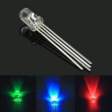 10Pcs 5mm 4pin RGB Tri-Color Common Anode LED light Red Green Blue
