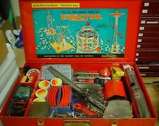 Gilbert Erector set No. 10 1/2 Amusement w/ manual