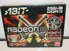 ABIT ATI Radeon RX800 Pro VIO RX800PROHDTV DVI VGA 256 MB DDR-3 AGP Video Card