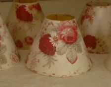 WAVERLY NORFOLK ROSE GARDEN ROOM FLORAL SHABBY CHIC LARGE FABRIC LAMP SHADE