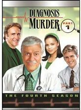 Diagnosis Murder: The Fourth Season, Part 1 [4 Discs] (2013, REGION 1 DVD New)