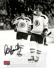 Phil Esposito Boston Bruins Signed Autographed Photo with Bobby Orr 8x10