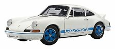 AUTOart 1:18 Porsche 911 Carrera RS 2.7 1973 White with Blue Stripes