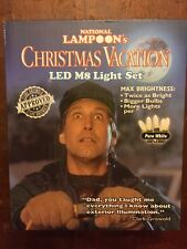 Christmas Vacation Pure White LED Light Set - Clark Griswold - Waterproof!
