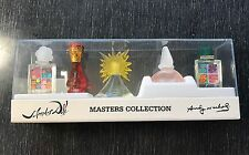 Salvador Dali & Andy Warhol Masters Collection Perfume Set 0.17 oz 5ML Sealed