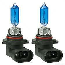 White Blue HB3 9005 100W SUPER WHITE GLOBES 5000K Headlight.. Light Bulbs