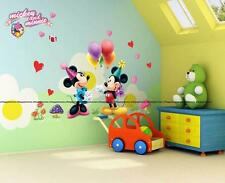 Disney MICKEY MINNIE MOUSE Ballons Party Wall Stickers Decor Kids Children Room