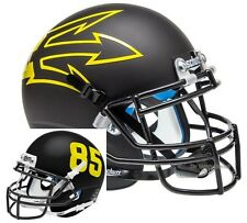 ARIZONA STATE SUN DEVILS BLACK 85 SCHUTT XP FULL SIZE REPLICA FOOTBALL HELMET