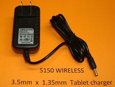 3.5mm AC Wall Charger Zenithink ZTPAD ZEPAD UPAD E98 Android Tablet ZT180-E98