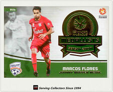 2013-14 SE A League Soccer Trading Card Medal Winner M6: Marcos Flores