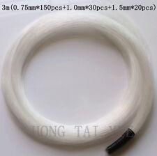 Fiber optical cable 3m(0.75mm*150pcs+1.0mm*30pcs+1.5mm*20pcs)