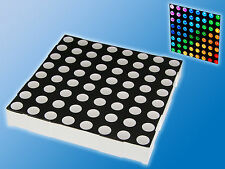 5mm RGB LED-Punktmatrix | 8x8 | 60x60x9mm | 32 Pin | Common Anode | Matrix