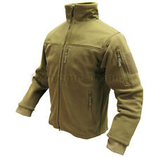 Condor Tan #601 Tactical Hunting Polyester ALPHA Micro Fleece Jacket 3XL XXXL