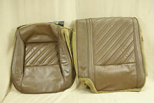 82-92 Firebird Rear Seat Cover Brown Leather good condition