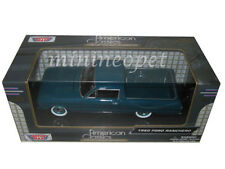MOTORMAX 79321 1960 FORD RANCHERO PICK UP TRUCK 1/24 DIECAST MODEL CAR BLUE