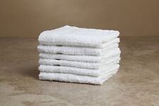 10 NEW 100% COTTON WASHCLOTHS SINGLE CAM BORDER WHOLESALE PRICE 12X12 **