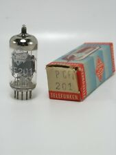 1 tube electronique TELEFUNKEN PCF201/vintage valve tube amplifier/NOS  -