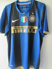 Inter Milan 2008-2009 Home Football Shirt Size Medium Italian Patch /13771