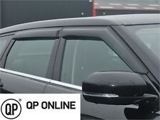 RANGE ROVER EVOQUE 5 DOOR NEW FRONT AND REAR WIND DEFLECTORS 4 PIECE DA6094