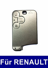 3T Spare Key Card Case for Renault Laguna II 2 Espace IV 4 Vel Satis