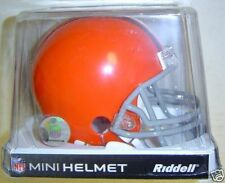 Cleveland Browns Riddell NFL Football Mini Helmet New in Factory Box