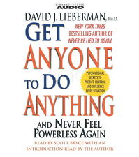 NEW 2 CD Get Anyone to do Anything (NLP) Persuasion Influence David Lieberman