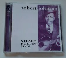 Robert Johnson- Steady Rolling Man CD double album classic blues