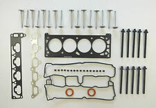HEAD GASKET SET BOLTS VALVES VRS HOLDEN ASTRA BARINA TIGRA ZAFIRA 1.8 98 on Z18