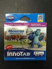 Monsters University V-Tech Innotab (New/Sealed) For 4-7 Year Olds