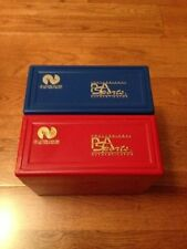 PSA Red & Blue Graded Plastic Box Cards Storage Card Display Protection Original