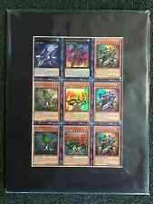 Yugioh Legacy of the Valiant Uncut Sheet LVAL 1st Ultra Rare Near Mint Fast Ship