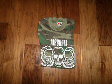 VINTAGE MILITARY AIRBORNE DEATH FROM ABOVE T- SHIRT