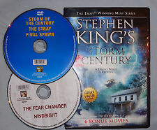 Stephen King's Storm of the Century 6 bonus movies The Shadows Sheltered R1 DVD