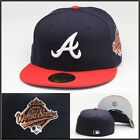 New Era Atlanta Braves Fitted Hat Cap 1995 World Series Side Patch MLB 59fifty
