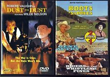 Dust To Dust (DVD, 2001) & Boots And Saddles/Riders Of The Whistling Pines (DVD)